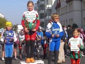 In der Altersklasse der U11-Schülerinnen erwies sich Joseline Oeser als die stärkste Fahrerin.